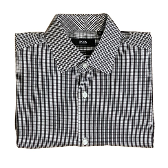 Hugo Boss Slim Fit Stretch Dress Shirt